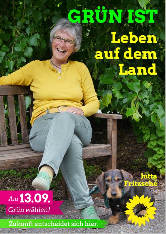 Jutta Fritzsche unsere Kandidatin für den Wahlbezirk Kollerbeck 2 / Papenhöfen