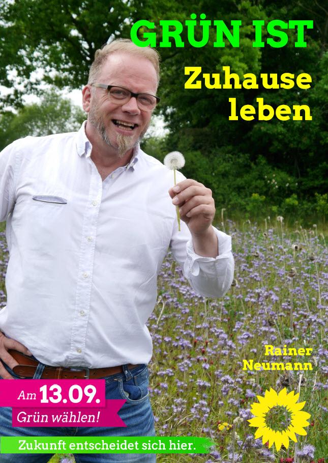 Rainer Neumann unser Kandidat für den Wahlbezirk Kollerbeck 1 / Born / Münsterbrock