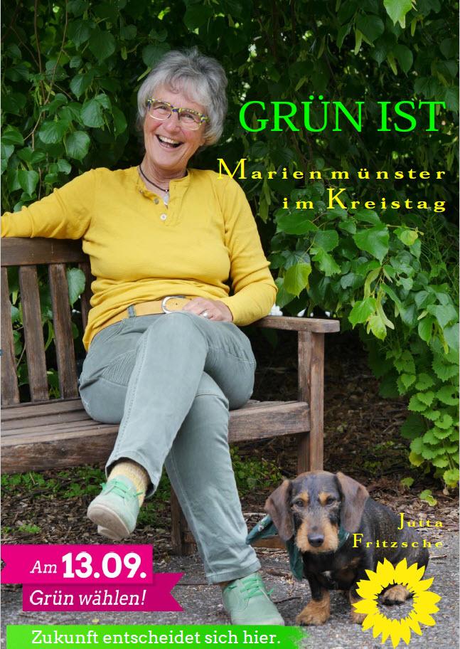GRÜN IST… Jutta Fritzsche für Marienmünster in den Kreistag