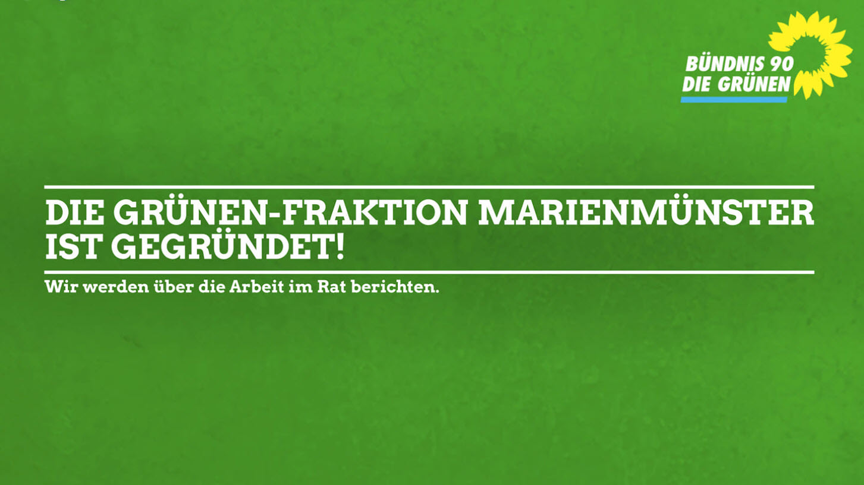 Gründung der GRÜNEN-Fraktion in Marienmünster