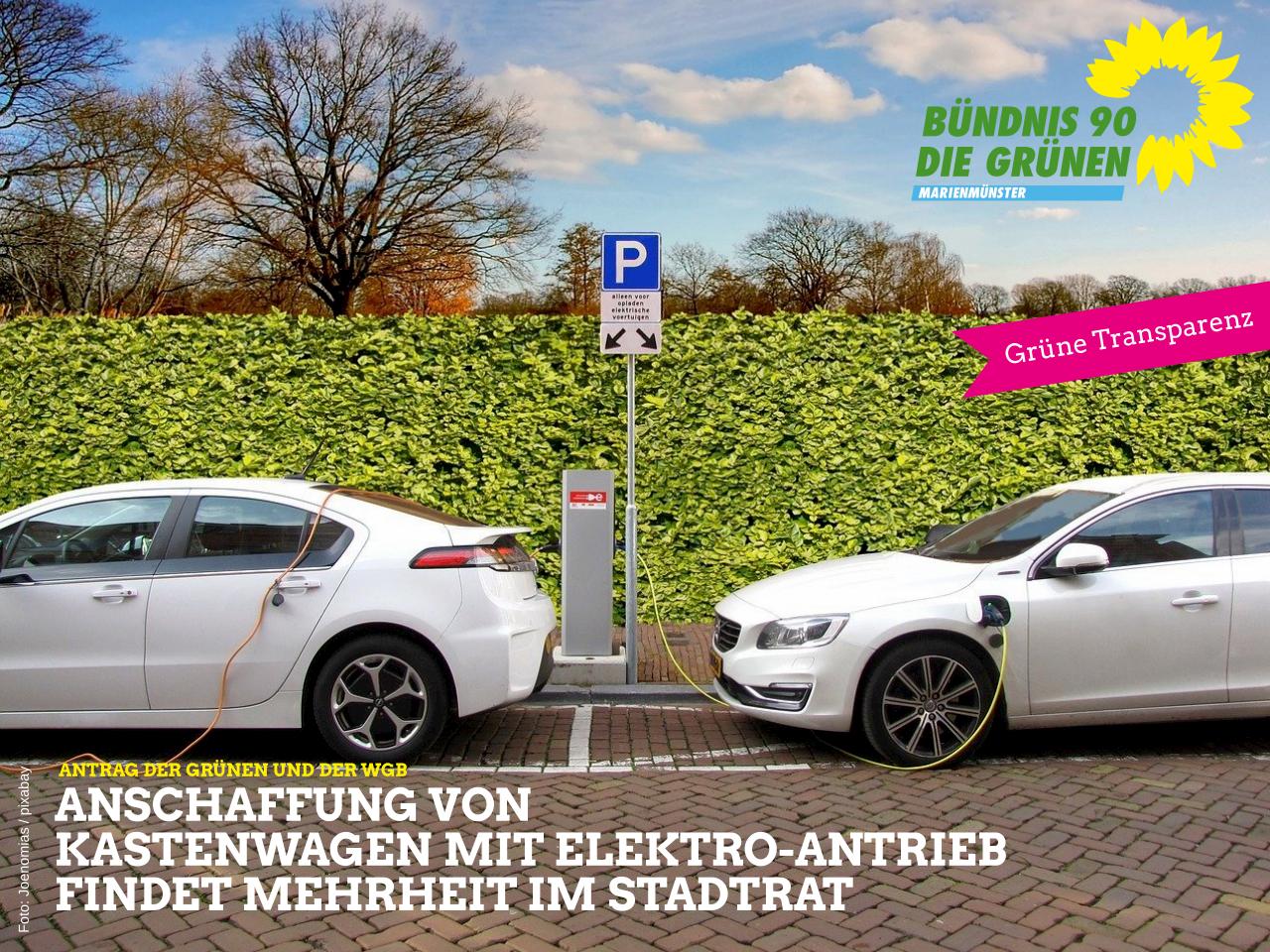 Anschaffung von Kastenwagen mit Elektro-Antrieb findet Mehrheit im Stadtrat